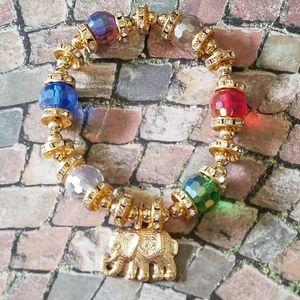 Jewelry - Elephant stretch bracelet
